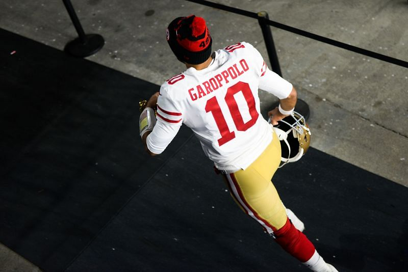 San Francisco 49ers QB Jimmy Garoppolo could be set for a hasty exit from the Levi