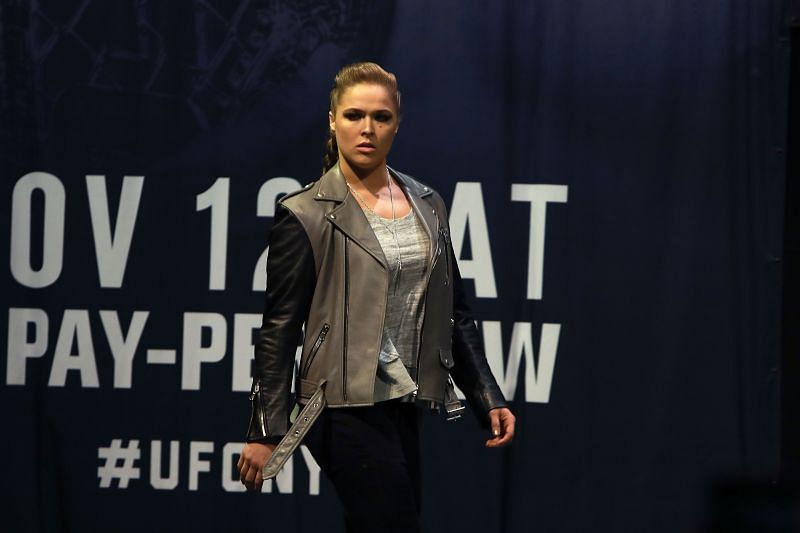 Was Ronda Rousey inducted to the UFC Hall of Fame post retirement from MMA?