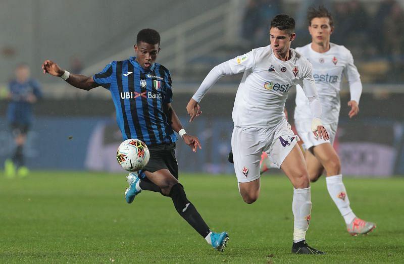 Diallo in action for Atalanta