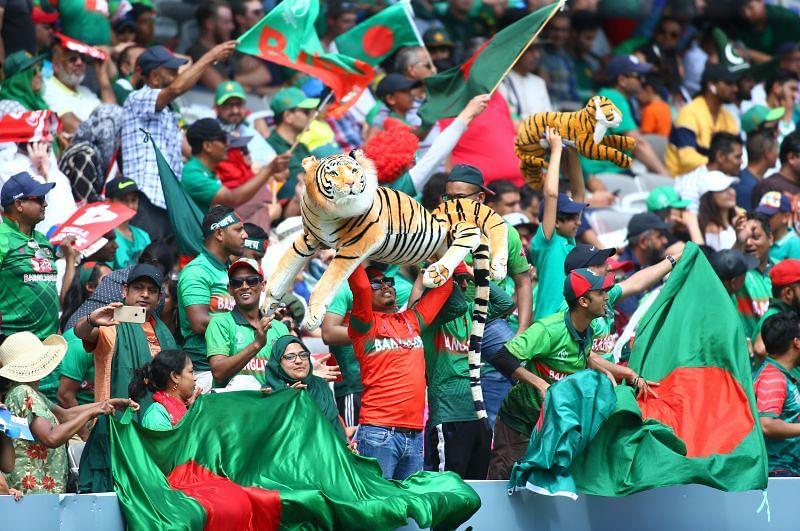 Bangladesh cricket fans.