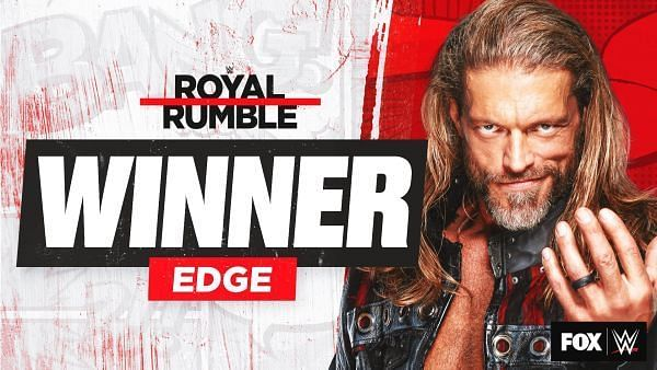 Edge won the 2021 WWE Men