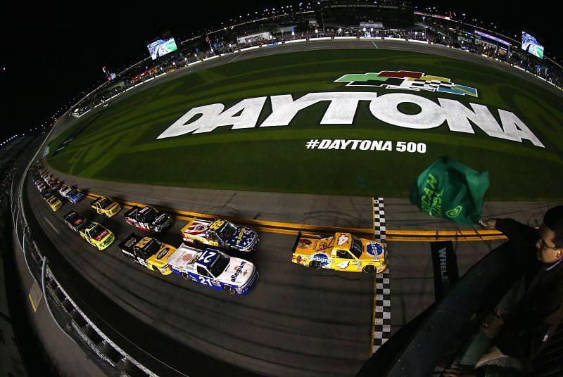 Daytona 500 is scheduled for a 2.30 p.m EST start today. Photo: Getty Images