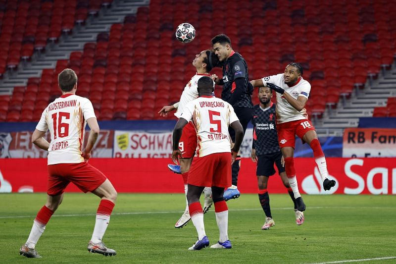 Defensive lapses on RB Leipzig