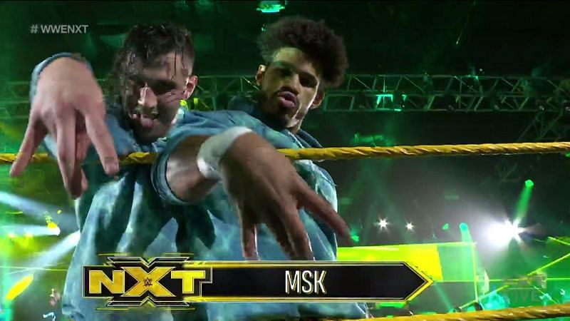 The new guys will take part in their first NXT TakeOver.