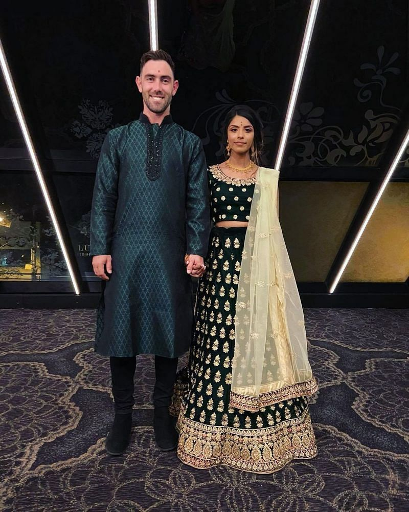 Glenn Maxwell and Vini Raman