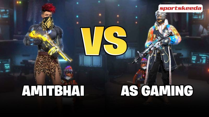 Amitbhai (Desi Gamers) vs AS Gaming: Who has better stats in Free Fire? - Sportskeeda