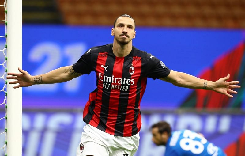 Zlatan Ibrahimovic will hope to continue his scoring form against Roma