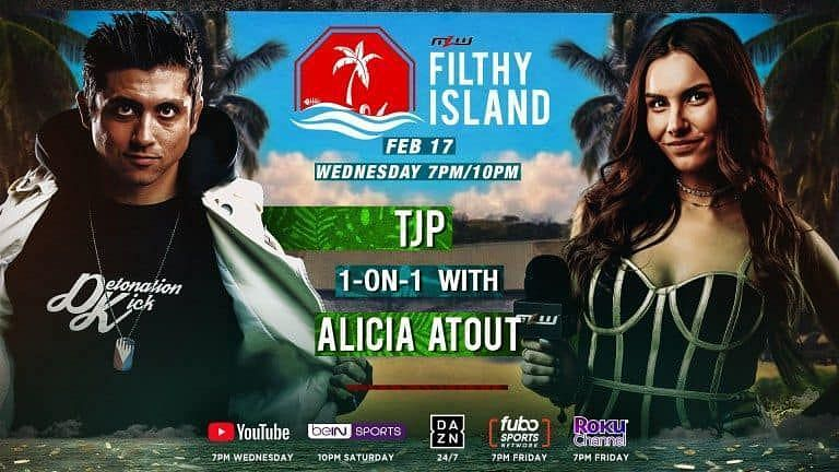 Alicia Atout interviews TJP