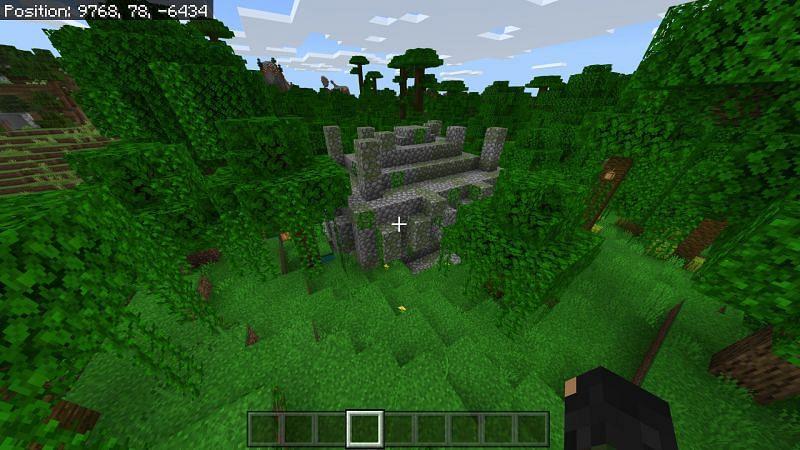 jungle temples in Jungle Biomes