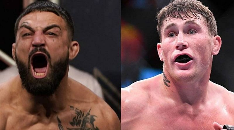 Mike Perry (left); Darren Till (right)