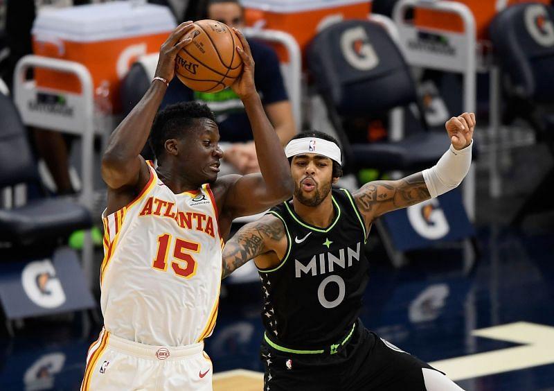 NBA DFS option Clint Capela of the Atlanta Hawks.