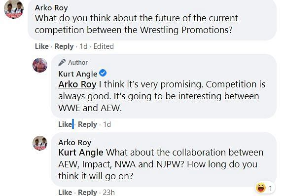 Kurt Angle is intrigued about the future of professional wrestling