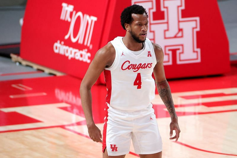 #4 Justin Gorham of the Houston Cougars