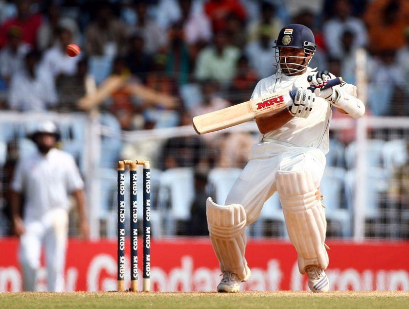 Sachin Tendulkar shone for Team India in the 2008 Chennai Test