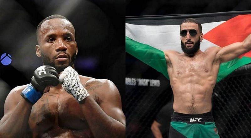 Leon Edwards and Belal Muhammad