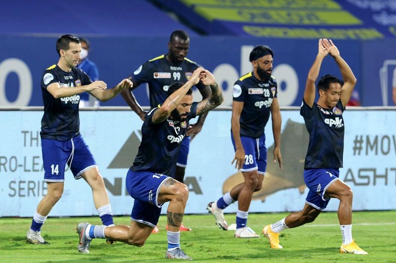Chennaiyin FC have all but pride to play for in the remainder of the season as the playoffs look out of reach for them. (Image: ISL)