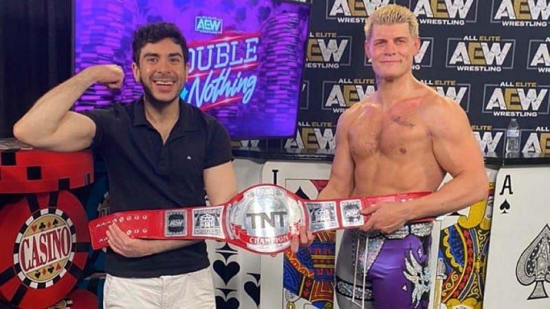 Tony Khan and Cody Rhodes