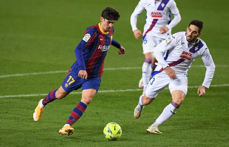 Francisco Trincao has been in fine form for Barcelona this season.