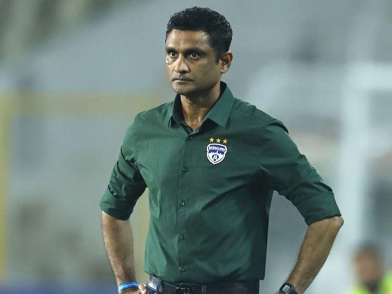 Bengaluru FC coach Naushad Moosa hasn