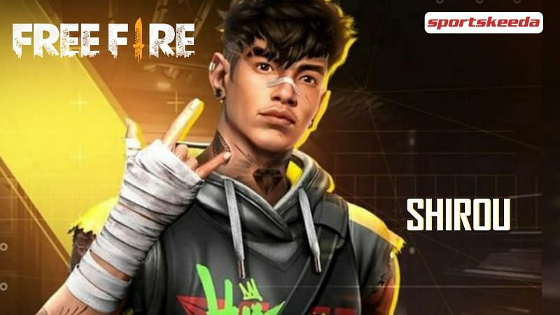 Shirou is one of the two newest characters in Free Fire (Image via Sportskeeda)