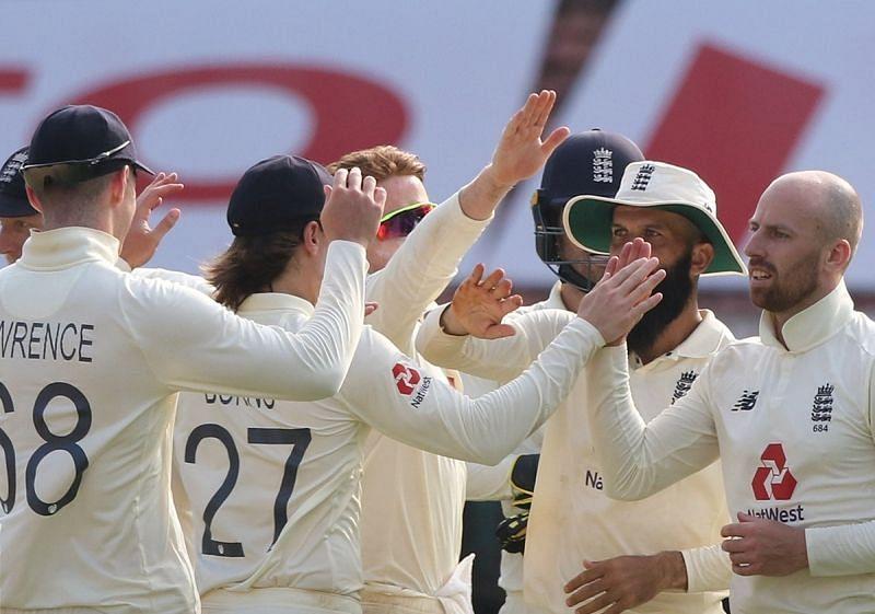 England cricket team. Pic: ECB