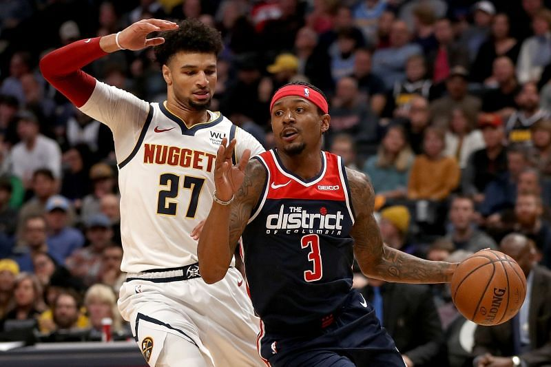 Bradley Beal of the Washington Wizards and Jamal Murray of the Denver Nuggets are set to face off