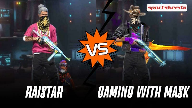 Garena Free Fire: Raistar vs Gaming With Mask