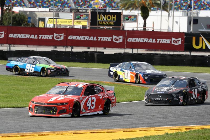 The 2020 NASCAR Cup Series race on the Daytona Road Course. Photo/Getty Images