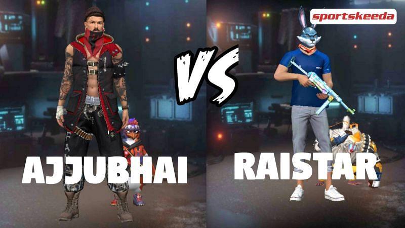 Garena Free Fire: Ajjubhai vs Raistar