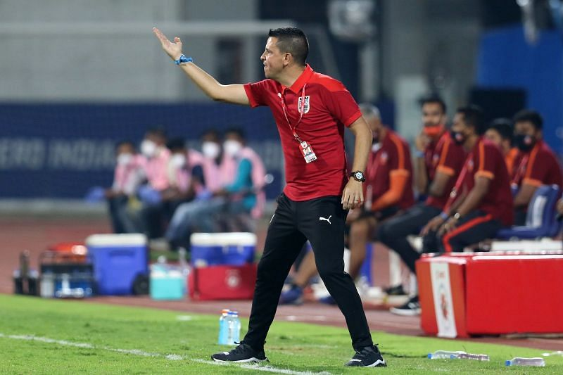Mumbai City FC coach Sergio Lobera heaped praises on Bengaluru FC players over their commitment (Image Courtesy: ISL Media)