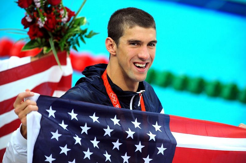 Michael Phelps at the Beijing Olympics
