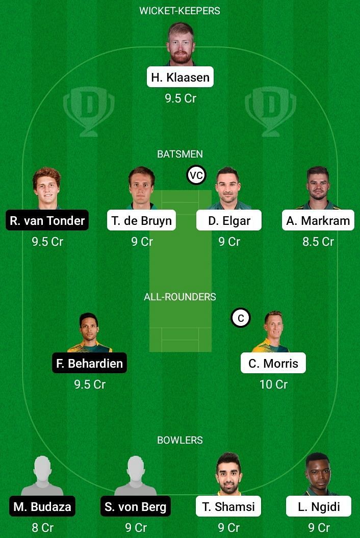 TIT v KTS Dream11 Team Prediction - CSA T20 Challenge