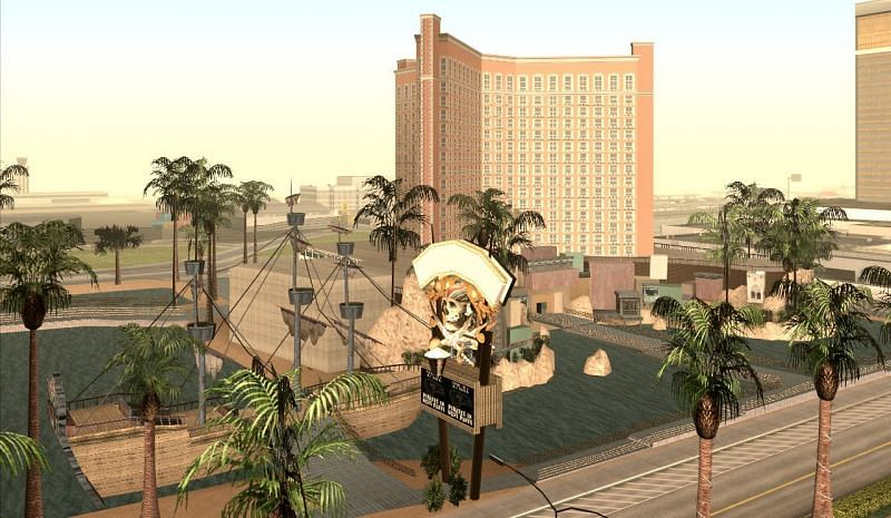 Las Venturas is one of the most interesting islands in GTA history (Image via Grand Theft Wiki)