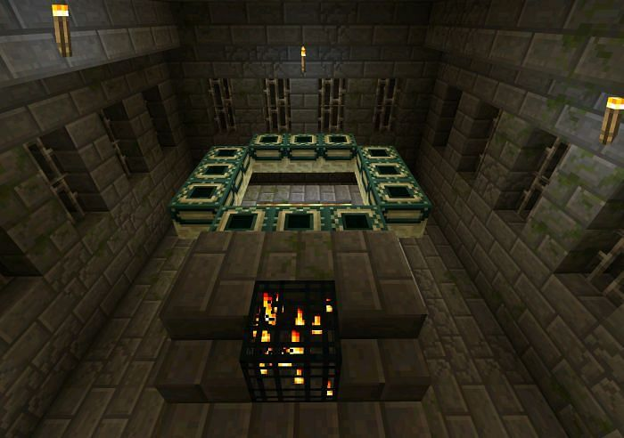 End Portal Room (Image via Minecraft)
