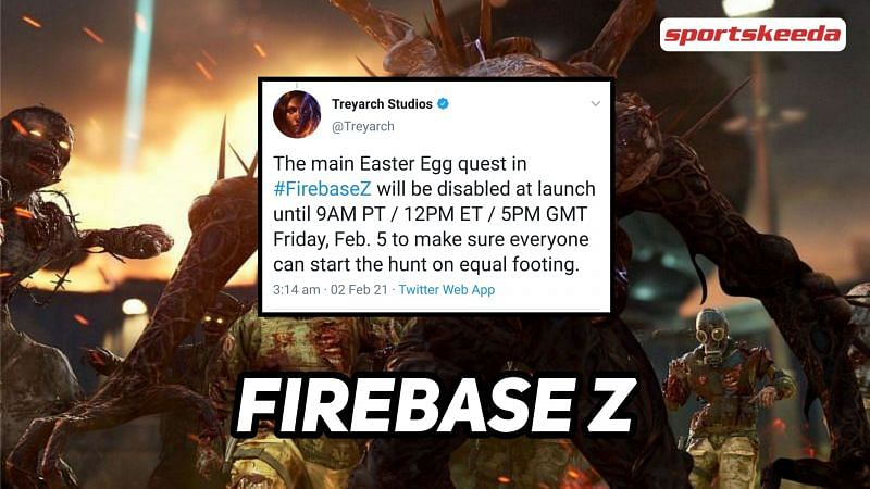 Firebase Z Easter Egg reveals in Call of Duty: Black Ops Cold War details.