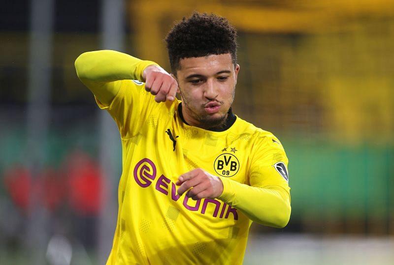 Borussia Dortmund superstar Jadon Sancho