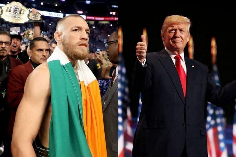 Conor McGregor and Donald Trump