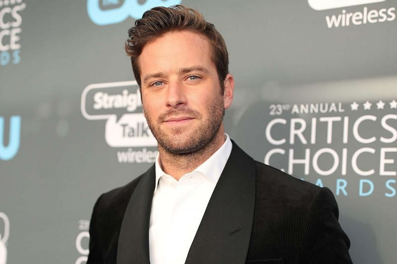 Armie Hammer recently came under fire for alleged being cannibalistic (image via Getty Images)