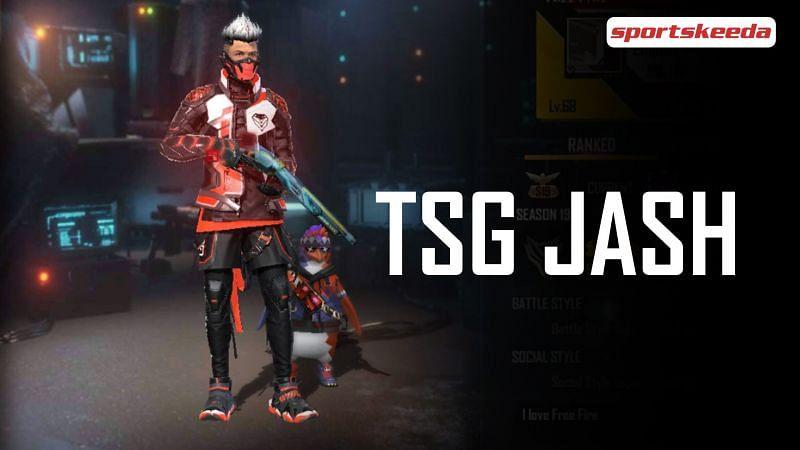 TSG Jash in Garena Free Fire