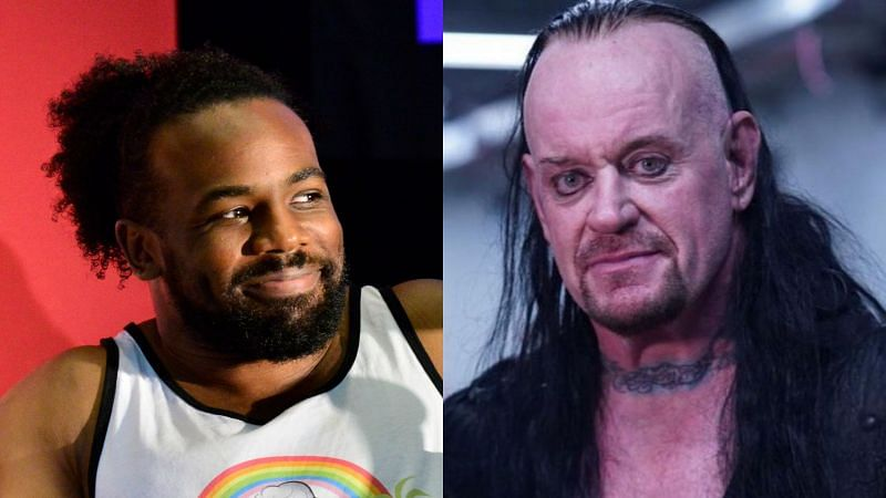 Xavier Woods and The Undertaker.