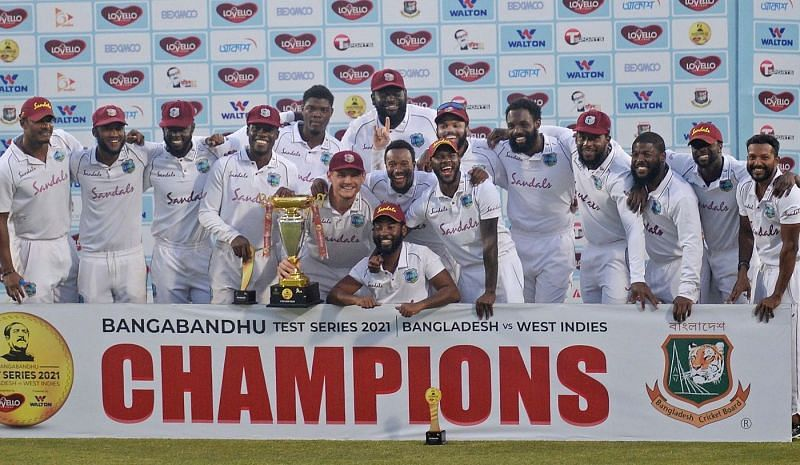 West Indies are the first team to win 2-0 in Bangladesh in the last eight years