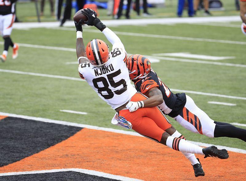 Cleveland Browns TE David Njoku