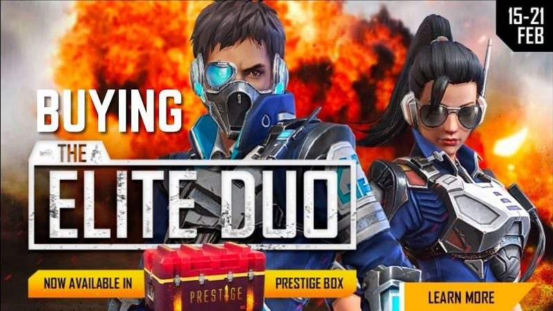 Garena has unveiled the Elite Duo Bundle in Free Fire (Image via Garena)