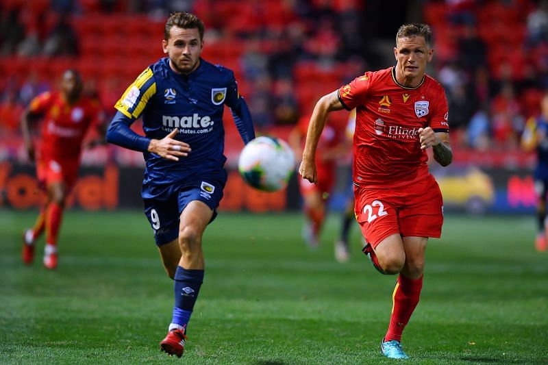 Adelaide United take on Central Coast Mariners this week