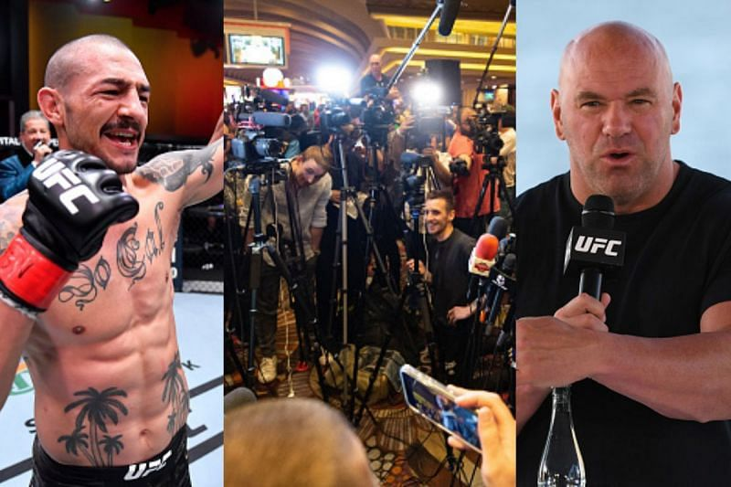 Cub Swanson and Dana White agree that MMA journalists should have amateur bouts on their resume