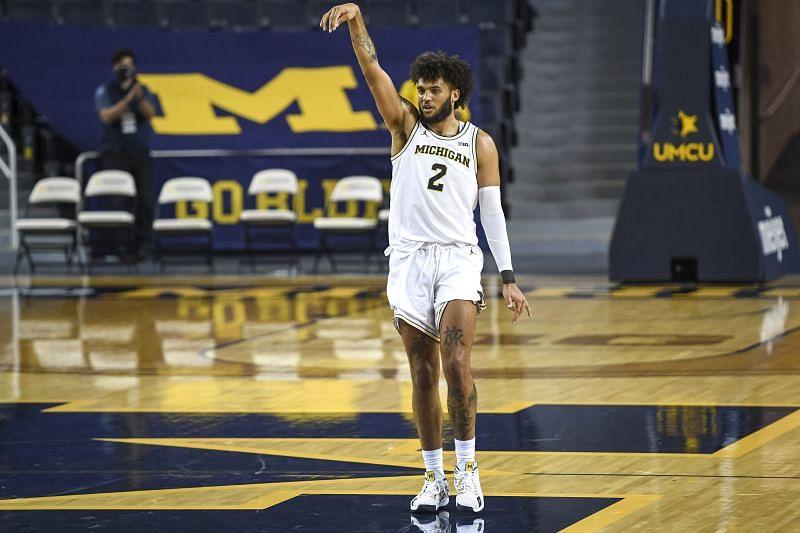 Michigan Wolverines guard #2 Isaiah Livers