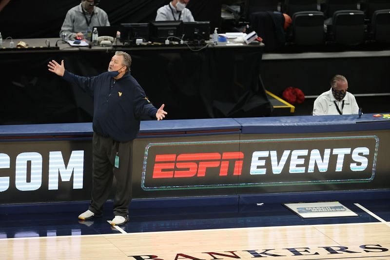 West Virginia Mountaineers head coach Bob Huggins