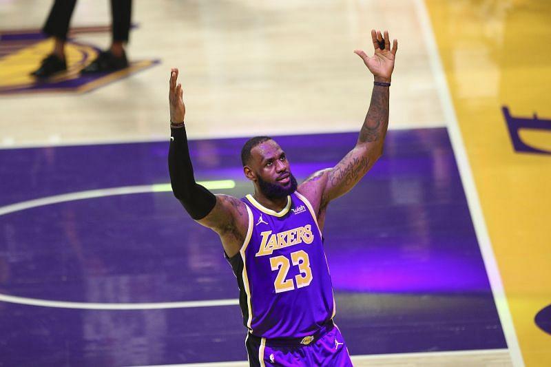 Los Angeles Lakers leader LeBron James