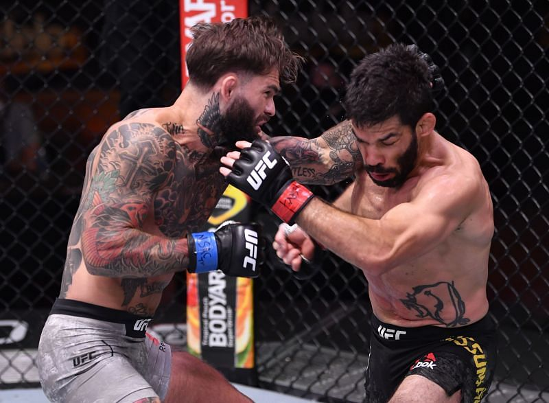 Cody Garbrandt made a big return to form in 2020 by knocking out Raphael Assuncao.