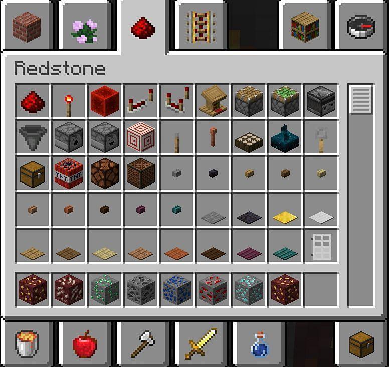 A whole lot of Redstone (Image via Minecraft)